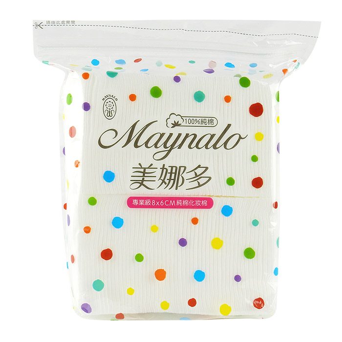 Maynalo 美娜多 專業級天然化妝棉 100枚入【RTJE388C】