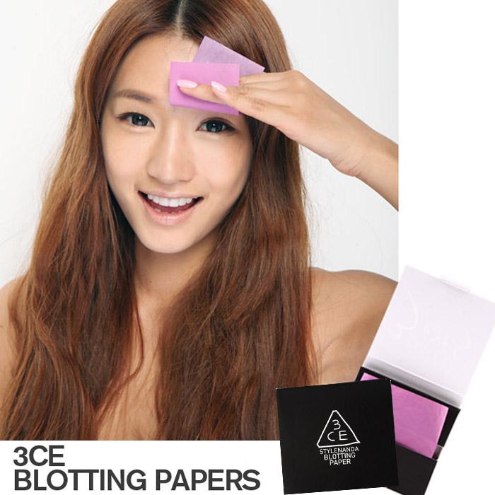 韓國 3CE (3CONCEPT EYES) 紫幻魔戀吸油面紙 60張入【RKST123C】