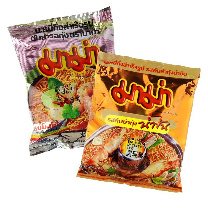泰國 MAMA泡麵 55g 進口/團購/泡麵/沖泡/蝦味麵【REJE411C】