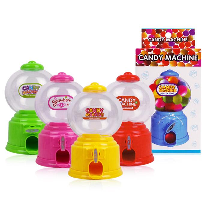 CANDY MACHINE 迷你糖果扭蛋機 玩具/存錢筒 乙入 隨機出貨不挑款/色【RSOTI72P】