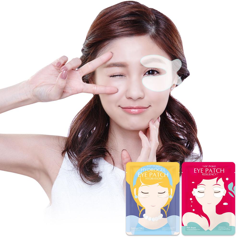 【任選3件48】HANAKA 花戀肌 小心肌緊緻透亮/果凍水凝眼膜【RTHA060C】
