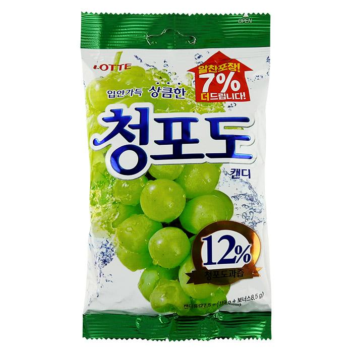 韓國 LOTTE 樂天 青葡萄糖 119g 進口/團購/零食/糖果【REJE591C】