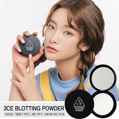 韓國 3CE(3CONCEPT EYES) 油光掰掰輕透控油蜜粉 8g【RKST068C】