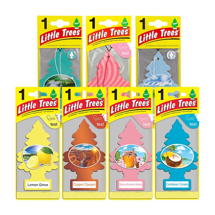 【任選3件99】加州淨香草 LITTLE TREES 小樹香氛片 全系列【RACS005B】