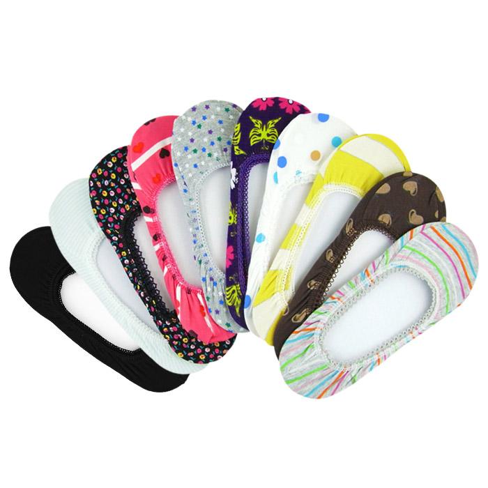 (96693) non-no 多彩繽紛極短隱形布襪套 船型襪 隱形襪 不挑款【REU0177C】