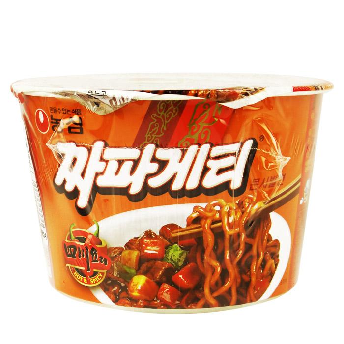 韓國 農心 四川炸醬麵(碗) 115g 進口/團購/泡麵/沖泡【REJE655C】