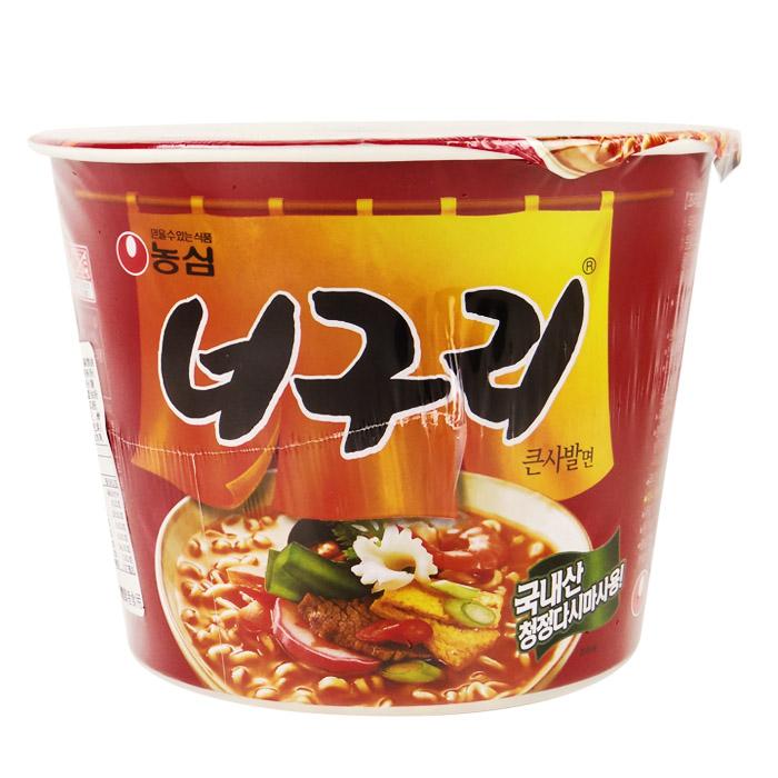 韓國 農心 昆布海鮮麵(辣味)(碗) 111g 進口/團購/泡麵/沖泡【REJE656C】