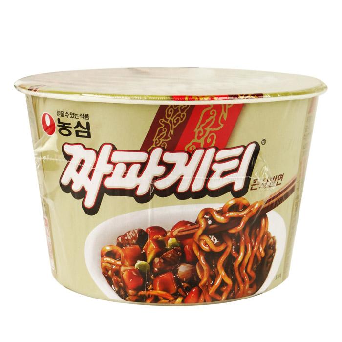 韓國 農心 炸醬麵(碗) 123g 進口/團購/泡麵/沖泡【REJE654C】