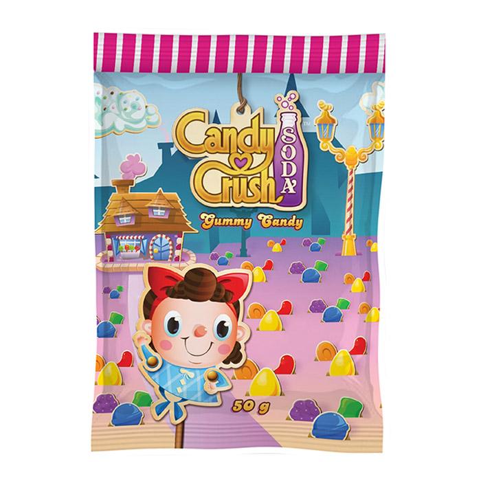 Candy Crush 果香軟糖 50g 進口/團購/零食/糖果【REJE658C】