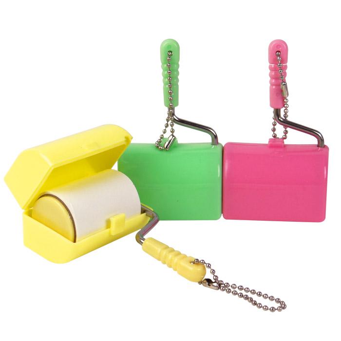 迷你隨身黏毛膠紙滾筒/便攜隨手黏 乙入 隨機出貨不挑款/色【ROLI197C】