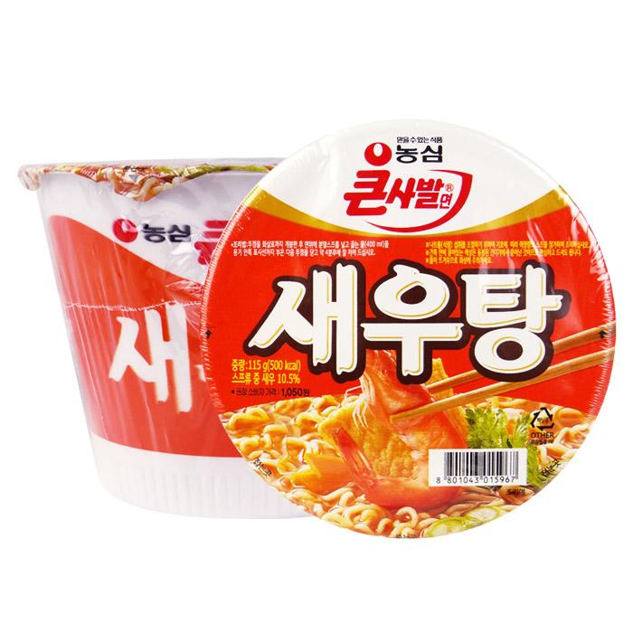 韓國 農心 鮮蝦湯麵(碗) 115g 進口/團購/泡麵/沖泡【REJE657C】
