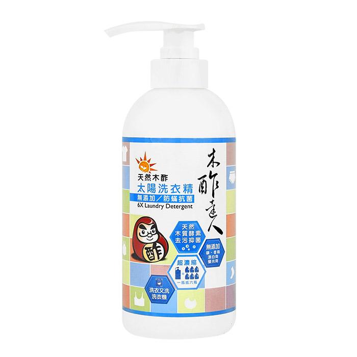 木酢達人 天然木酢無添加防螨抗菌洗衣精 500mL【RTDA009C】