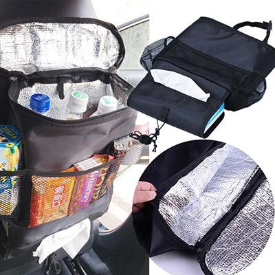 新款多功能椅背置物袋/汽車用保溫袋/儲物收納包置物包 乙入 (隨機出貨不挑款/色)【ROLI232C】