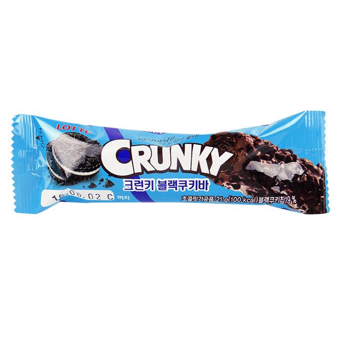 韓國 LOTTE CRUNKY 巧克力棒 21g 進口/團購/零食/餅乾【REJE692C】