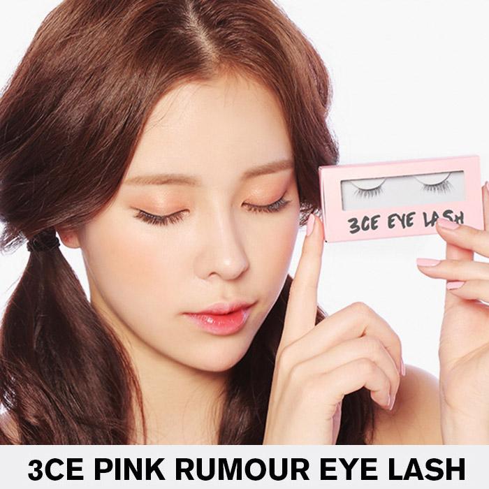 韓國3CE(3CONCEPTEYES)╳PINK粉紅限定假睫毛#.16【RKST148C】