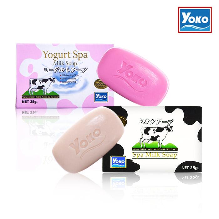 YOKO優菓 牛奶皂/優格皂 25g【ROYO026C】