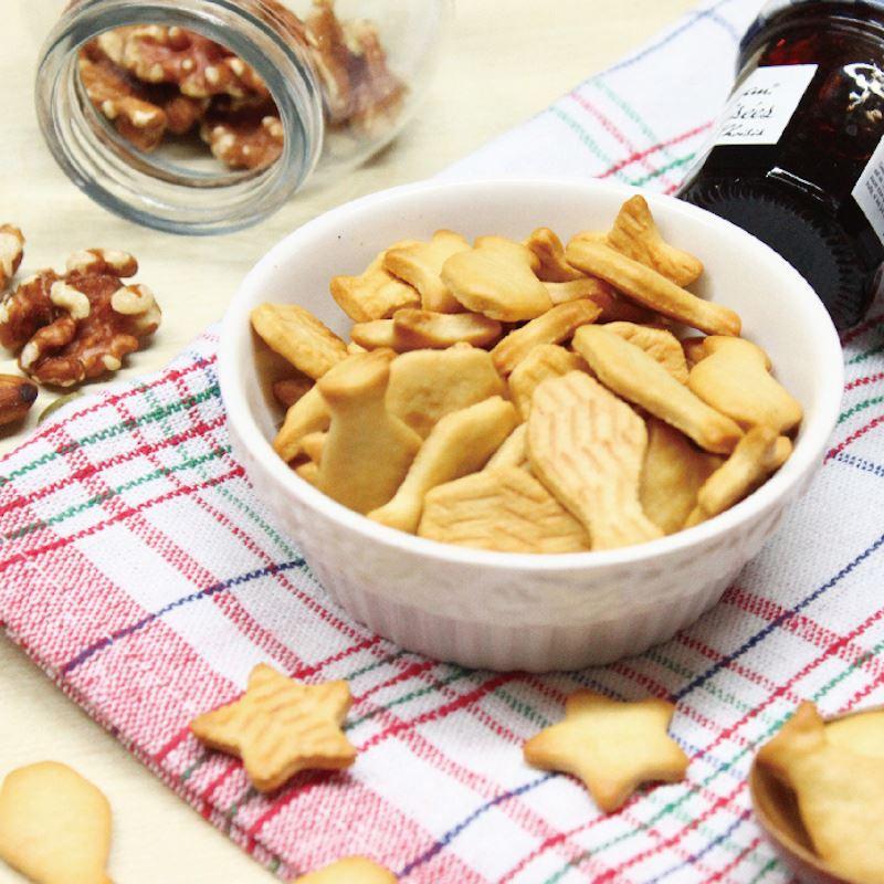 (售完)[愛天然] 四方牧場鮮奶油使用~乳酪星星魚 (140g/包)