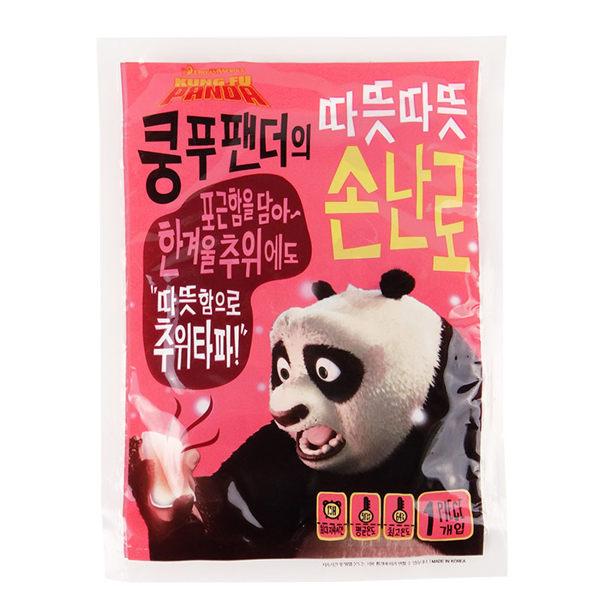 韓國DreamWorks夢工廠功夫熊貓系列小暖爐暖暖包乙入70g【ROKE811C】