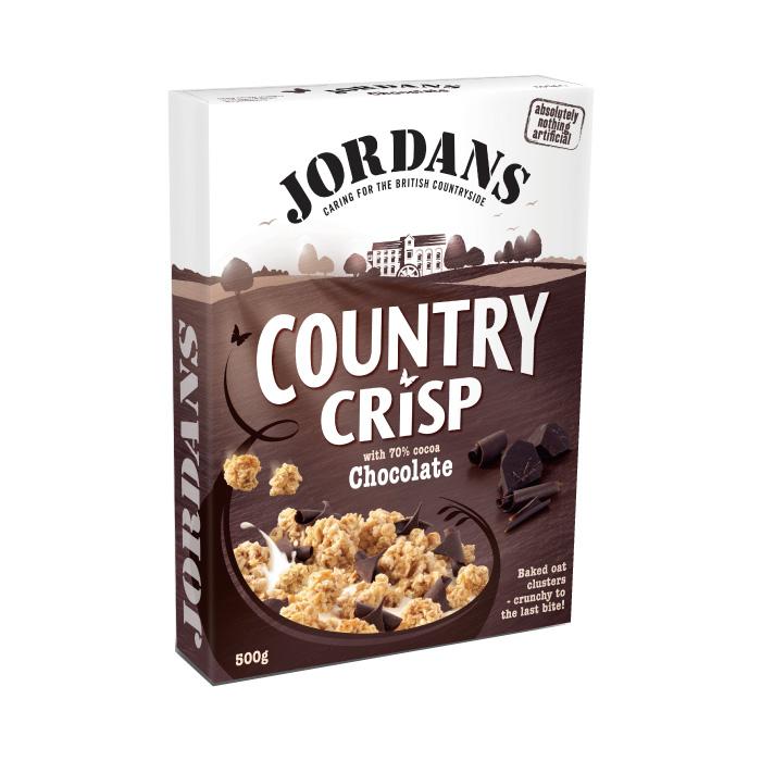 [英國Jordan's]黑可可燕麥脆片 (500g/盒)