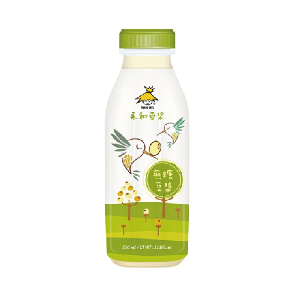 [永和豆漿]無糖豆漿(350ml/瓶)