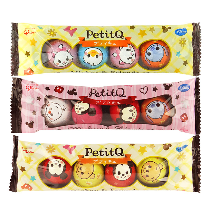 日本Glico江崎固力果(格力高)迪士尼PetitQ巧克力30g進口/團購/零食/糖果【REJE747C】