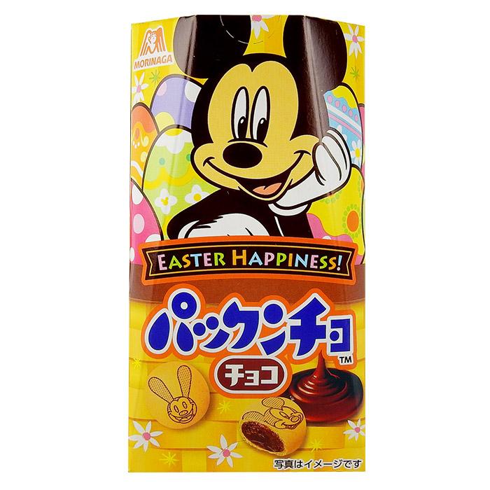 日本MORINAGA森永米妮/米奇草莓巧克力餅45g進口/團購/零食/餅乾【REJE764C】