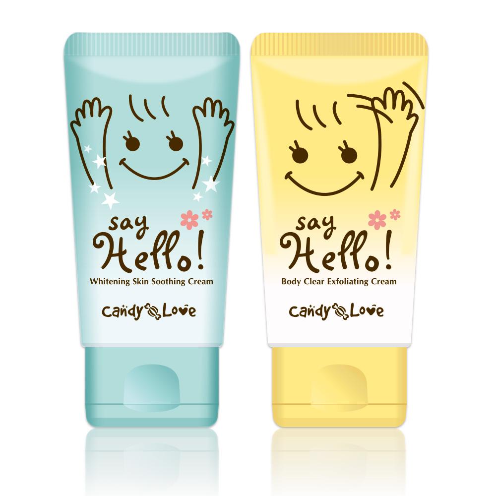 Candy Love Say Hello! 順理毛髮乳霜 (揮手霜) 60ml 整毛+贈水亮亮舒緩嫩白霜 60ml【RTCL011C/RTCL008C】