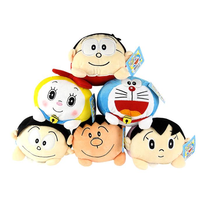 哆啦A夢疊疊樂家族(5.5吋)乙入娃娃/情人節/聖誕節禮物/多款可選【ROLI299C】