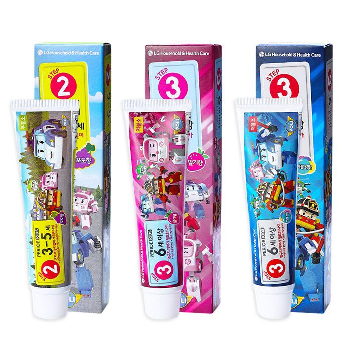 韓國LGPERIOE倍麗兒波力幼兒/兒童牙膏75g乙入多款可選【RATH044C】