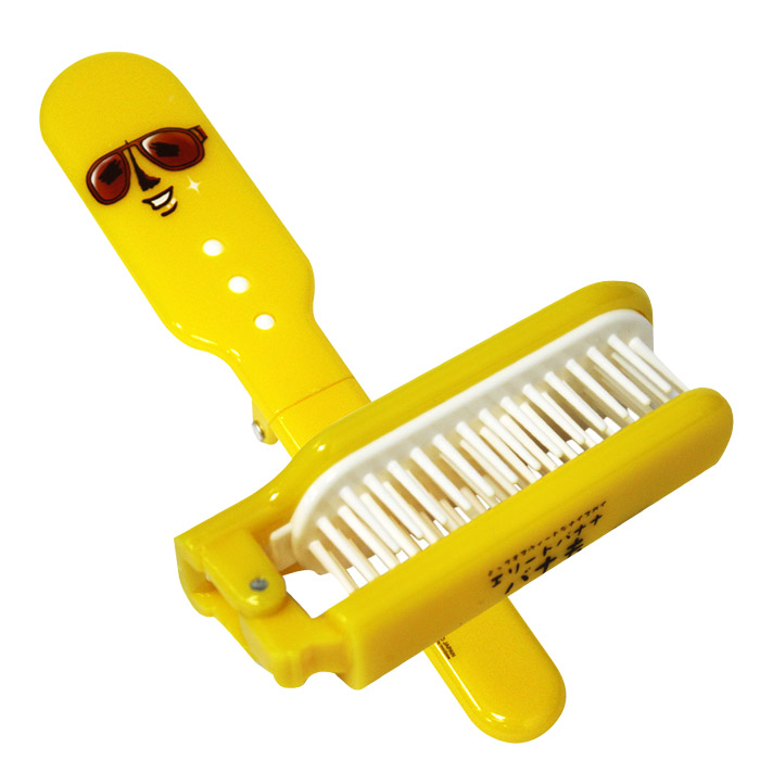 BANAO香蕉先生摺梳/梳子/髮梳乙支入【ROLI294C】