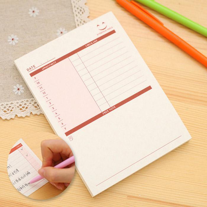 創意文具 可撕辦公待辦計畫小紙條/備忘錄(小) 桌曆/行事曆【ROLI323C】
