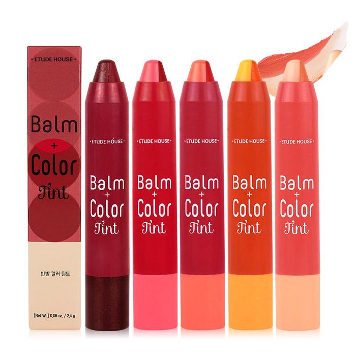 韓國 ETUDE HOUSE 荷荷巴雙色絢彩潤唇蠟筆 2.4g 口紅/多色可選【ROET224C】