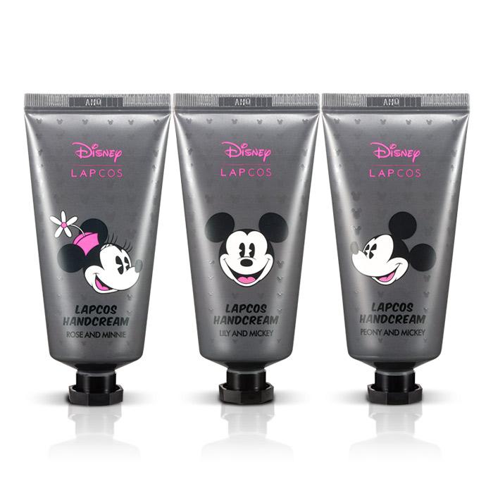 韓國 LAPCOS x Disney 迪士尼聯名20%乳木果油花香護手霜 50ml 牡丹/茉莉/玫瑰【RKLA008C】