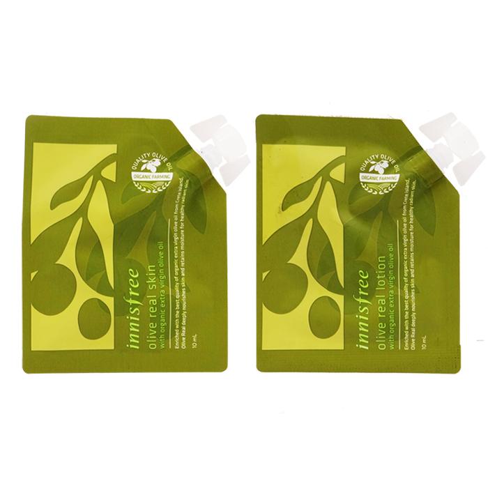韓國innisfree橄欖(化妝水/乳液)旅行包 10mL【RKIN006C】