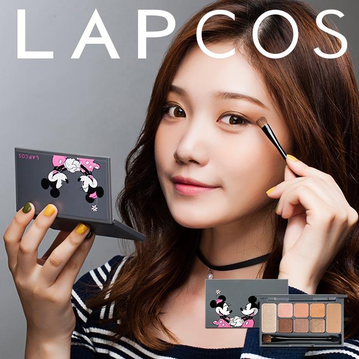 韓國 LAPCOS x Disney迪士尼聯名深遂耀眼八色眼影盤(附刷具) 9.5g【RKLA005C】
