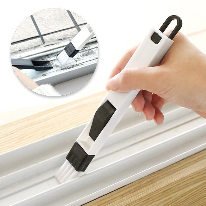 窗戶凹槽清潔刷/縫隙刷/紗窗清洗工具/清洗工具/灰塵清理 乙入【ROLI338C】
