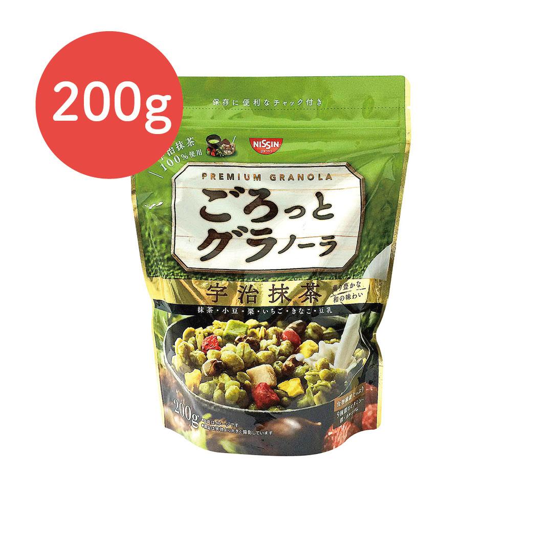 [日清Nissin]宇治抹茶麥片(200g/袋)(有效期限:2017.06底)