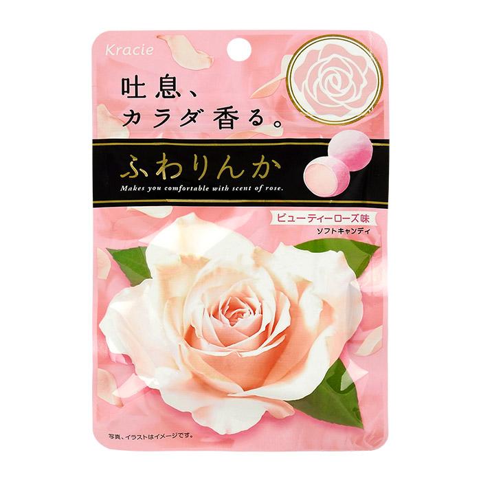 日本 Kracie 身體香氛香味口玫瑰軟糖 32g 【REJE001B】