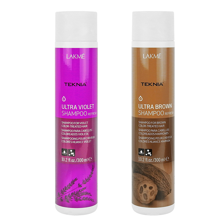 LAKME 萊肯 TEKNIA 基礎系列 洗髮精 300mL 極棕/紫綴【RHLA005C】