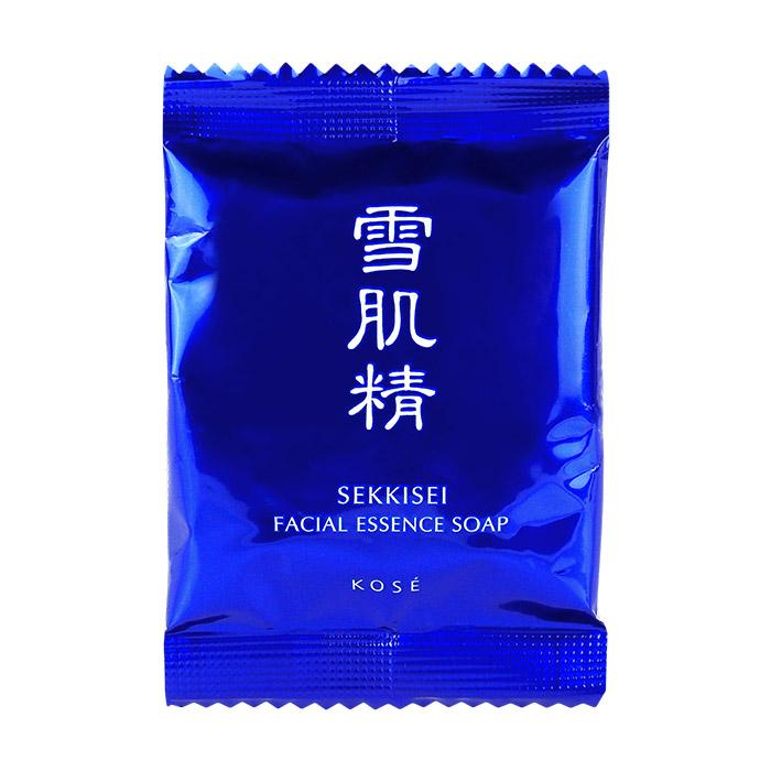日本 KOSE 高絲 雪肌精 晶透潤白潔顏皂 10g【RJKO243C】