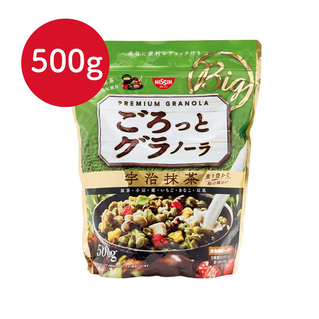 [日清Nissin]宇治抹茶麥片(500g/袋)(有效期限:2017.05底)