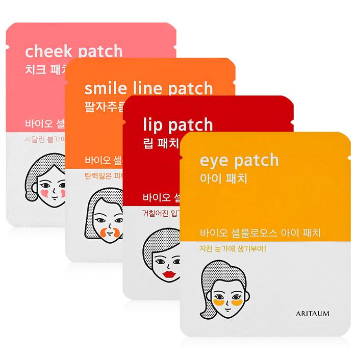 韓國 Aritaum 生物纖維臉部重點膜 乙對入 眼周/臉頰/法令紋/唇膜【RKAR011C】