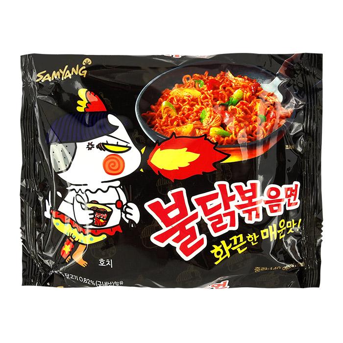 韓國 SAMYANG 火辣雞肉風味鐵板炒麵 140g 進口/團購/泡麵/沖泡/三養【REJE820C】