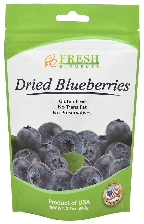 [美果屋]顆顆飽滿藍莓乾-隨身包(100g/包)