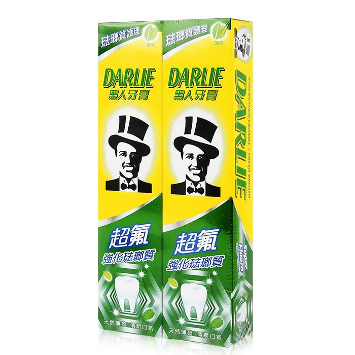 DARLIE 黑人 超氟強化琺瑯質牙膏 250g╳2入/組【RATH054C】