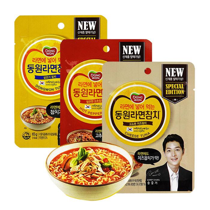 韓國 Dongwon 鮪魚調理包 65g 進口/團購/泡麵/料理包/宋仲基【REJE832C】