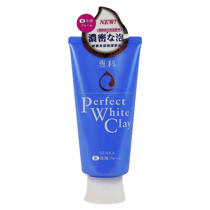 日本 SHISEIDO 資生堂 洗顏專科 PERFECT 超微米深層潔顏泥 120g【RJSH241C】