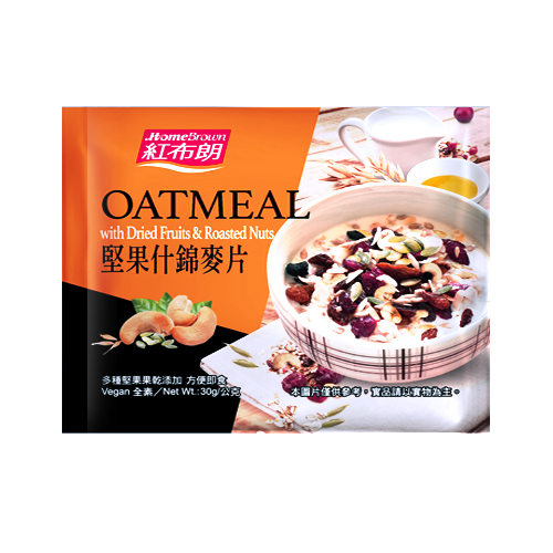 [紅布朗]堅果什錦麥片(30g/包)