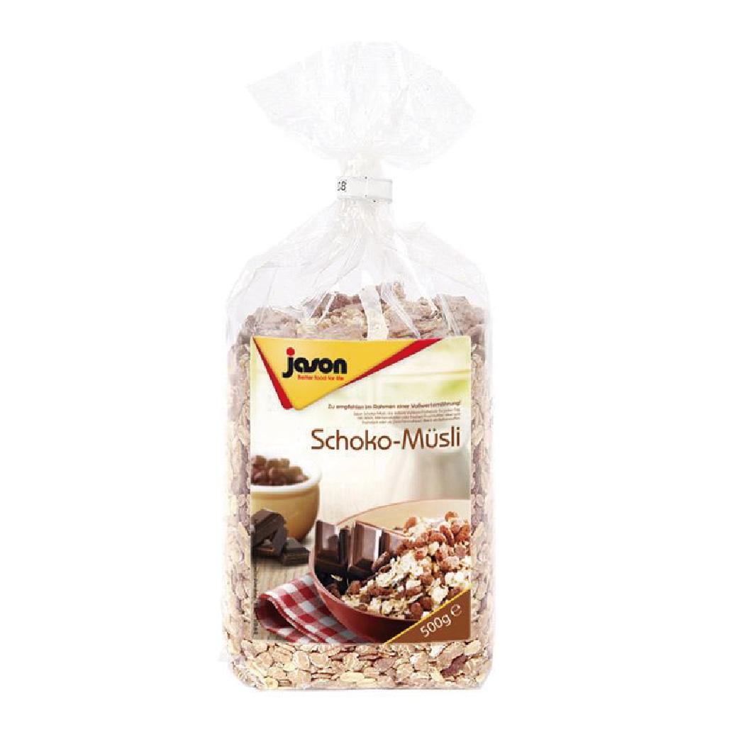 (售完)[德國Jason傑森] 巧克力麥片 (500g/包)