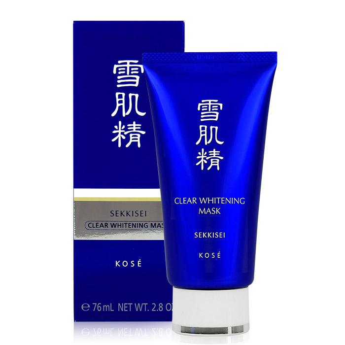 日本 KOSE 高絲 雪肌精 淨白黑面膜 76mL(80g)【RJKO261C】